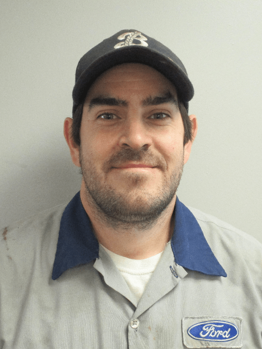 Geoff Martin : Apprentice Technician